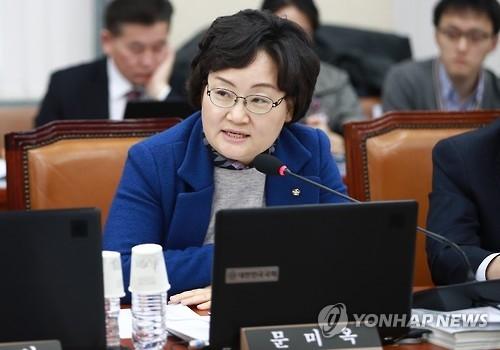 资料图片:韩国青瓦台总统政策室科学技术辅佐官文美玉(韩联社)