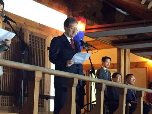 中高官出席韩国使馆活动释放回暖信号