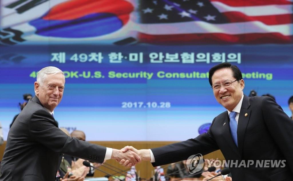 韩美商定增派战略武器应对朝核挑衅 - 1