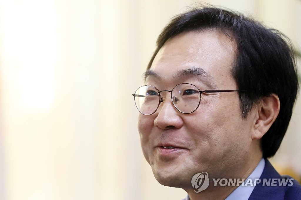 韩国外交部韩半岛和平交涉本部长李度勋(韩联社)