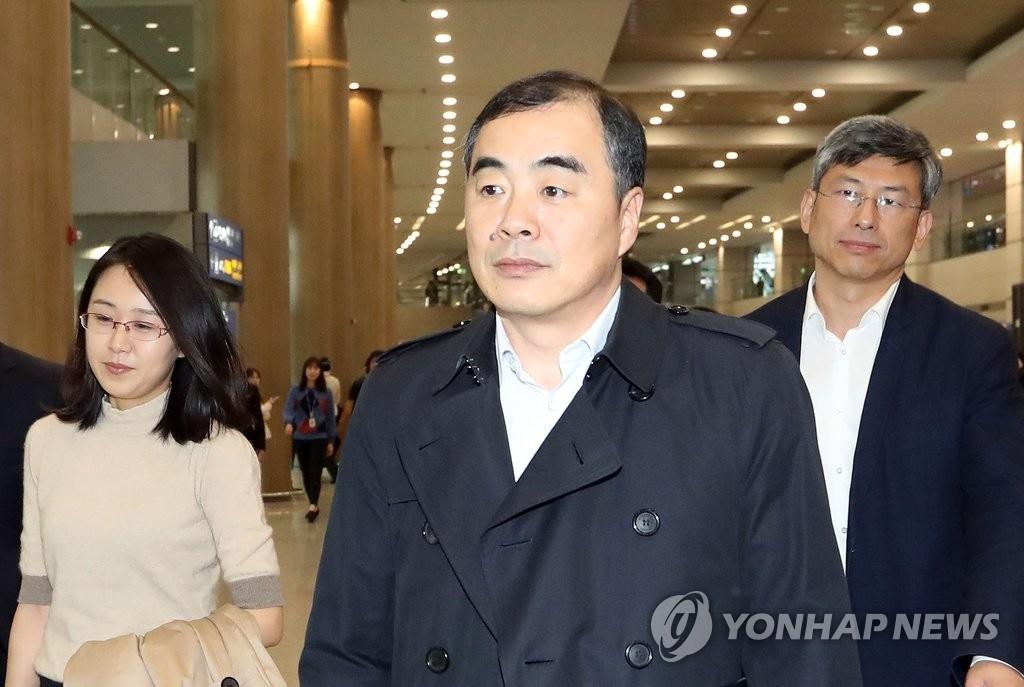 中国外交部朝鲜半岛事务特别代表孔铉佑(韩联社)