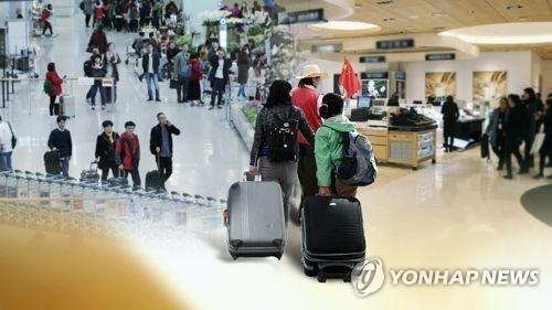 韩面向中国随团游客的电子签证优惠延至明年 - 1