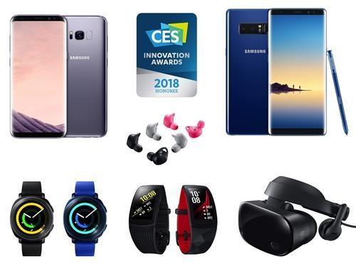 入围CES获奖名单的三星电子产品(韩联社)