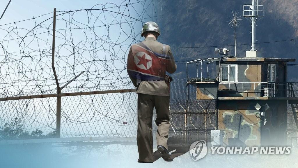 详讯:一朝鲜军人越境投韩中枪送医 - 1