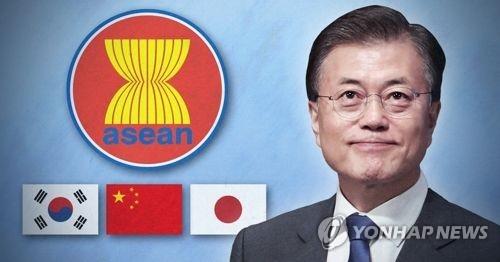 简讯:文在寅出席东盟与韩中日领导人会议 - 2