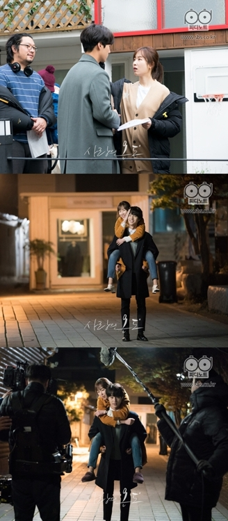 《爱情的温度》花絮照(官网图片)