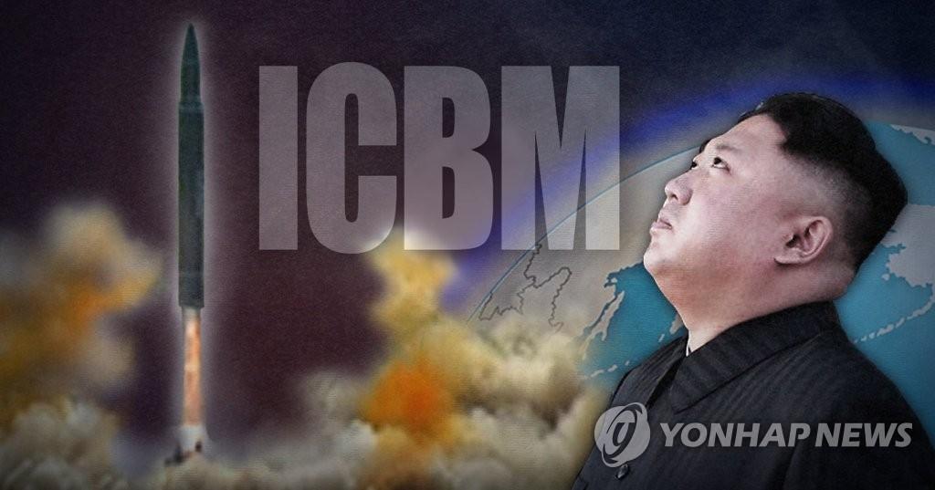 """简讯:韩联参初步研判朝鲜今射""""火星-14""""系列导弹 - 1"""