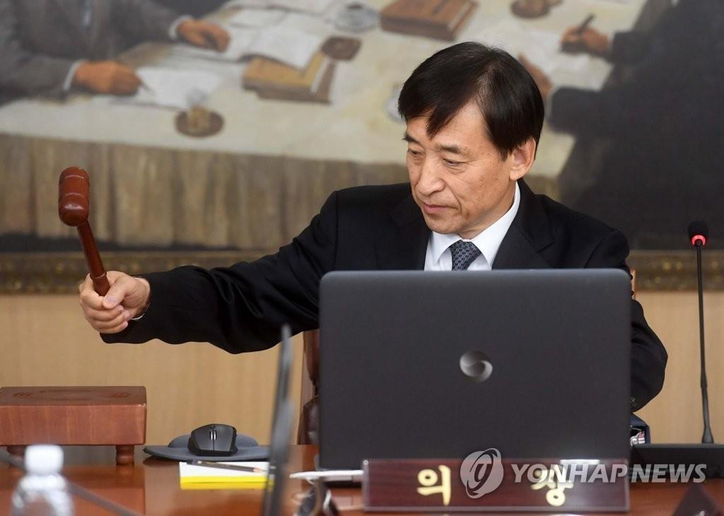 韩国央行行长李柱烈(韩联社)