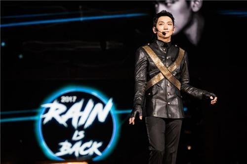 RAIN回归秀(KBS电视台提供)