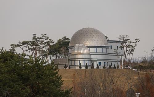 安城绝配乐园里的天文科技馆(韩联社记者成演在摄)