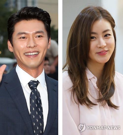 资料图片:玄彬(左)和姜素拉(韩联社)