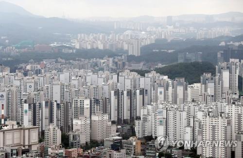 首尔市江南区高楼林立。(韩联社)