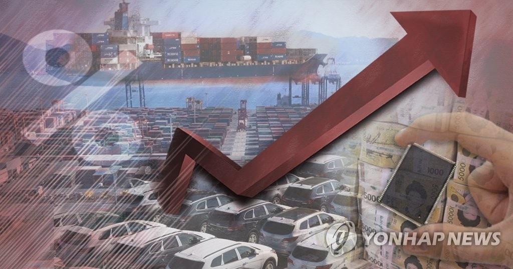韩2017年贸易额超1万亿美元居世界第六 - 1