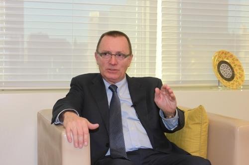 联合国负责政治事务的副秘书长杰弗里·费尔特曼(韩联社)