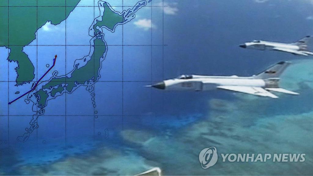 简讯:5架中国军机今一度飞入韩国防空识别区
