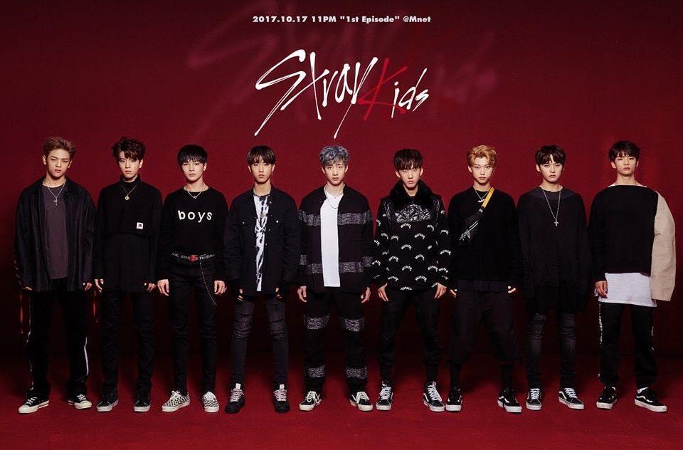 新人男团Stray Kids(脸谱)