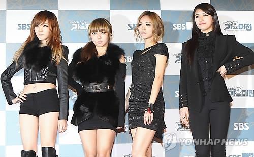韩女团miss A宣布解散