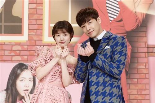 资料图片:李准(右)和郑素敏(韩联社/KBS提供)