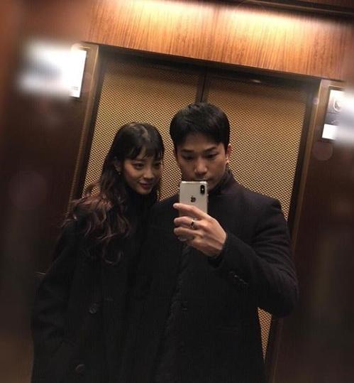 MBLAQ成员G.O晒与崔艺瑟合照公布恋情