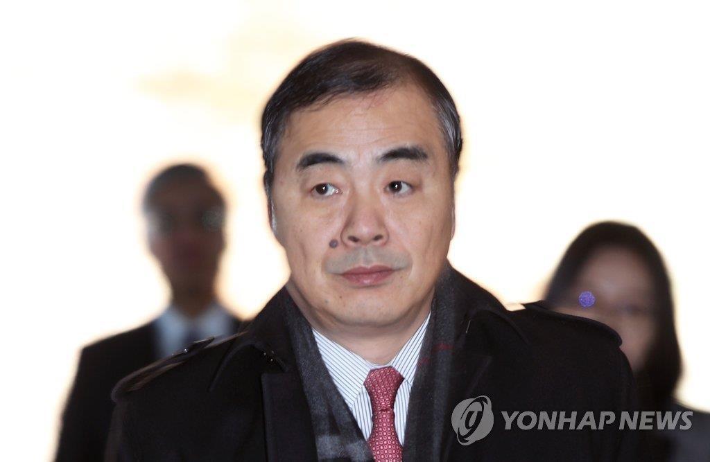 中国副外长孔铉佑(韩联社)