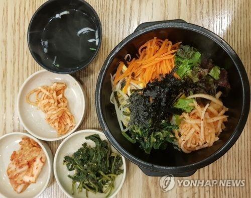 资料图片:石锅拌饭(韩联社)
