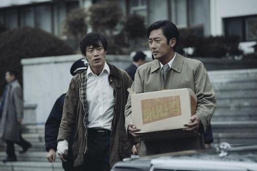 韩片《1987》海报(CJ娱乐提供)
