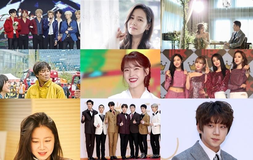一周韩娱:《与神同行》票房开挂 IU和BTS获金唱片最高奖 - 1