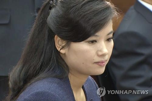 朝鲜三池渊管弦乐团团长玄松月(韩联社/统一部提供)