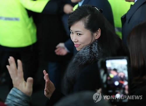 资料图片:1月21-22日访韩踩点的朝方先遣队长玄松月(韩联社)