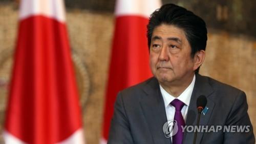 资料图片:日本首相安倍晋三(韩联社/欧新社)