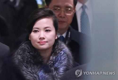 资料图片:朝鲜三池渊管弦乐团团长玄松月(韩联社)
