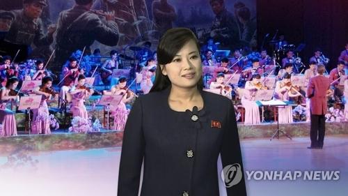 玄松月和朝鲜三池渊管弦乐团(韩联社)