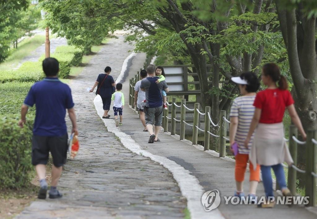 调查:六成韩国人每周锻炼一次 - 1