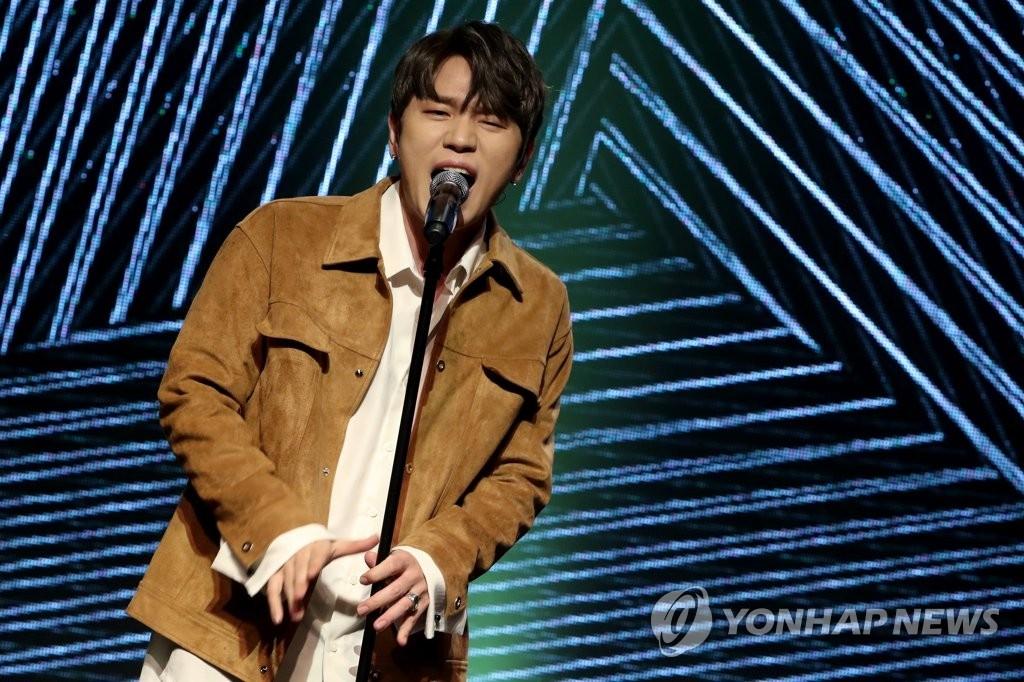 歌手K.Will(韩联社)