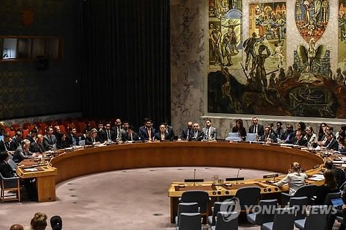 资料图片:联合国安全理事会(韩联社)