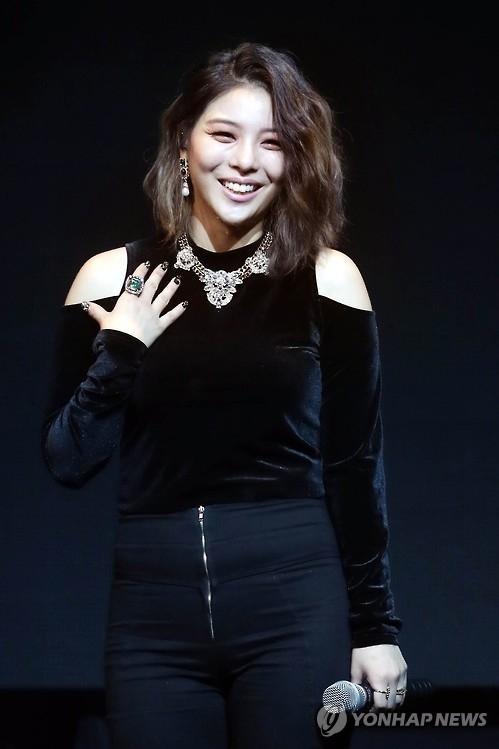歌手Ailee(韩联社)