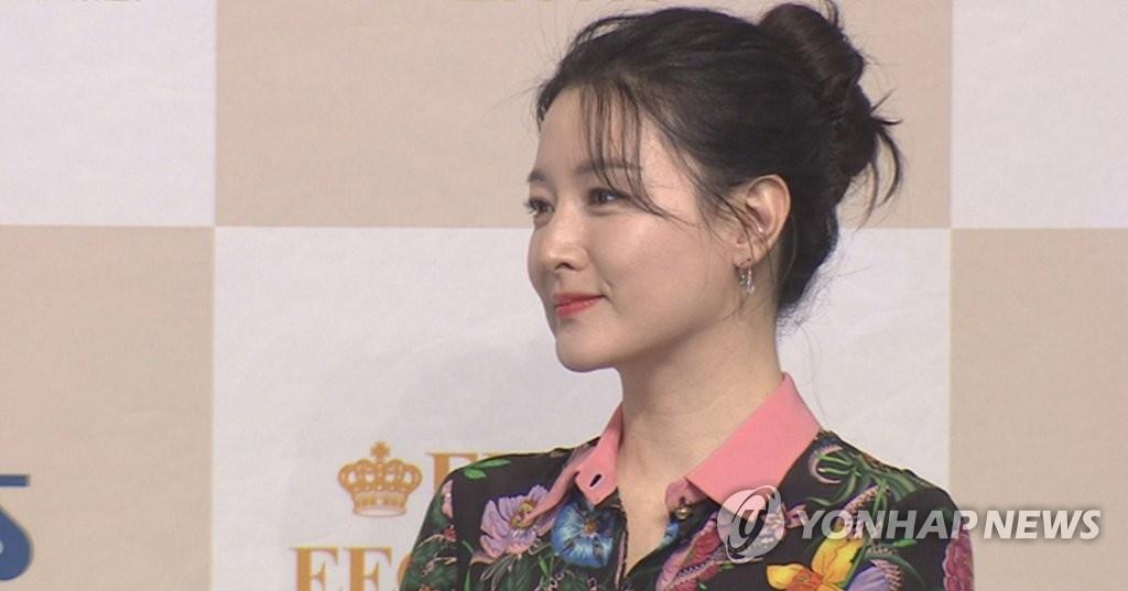 演员李英爱(韩联社TV)