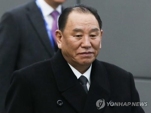 朝鲜劳动党中央委员会副委员长金英哲(韩联社)
