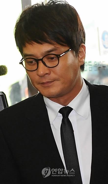 资料图片:演员赵珉基(韩联社)