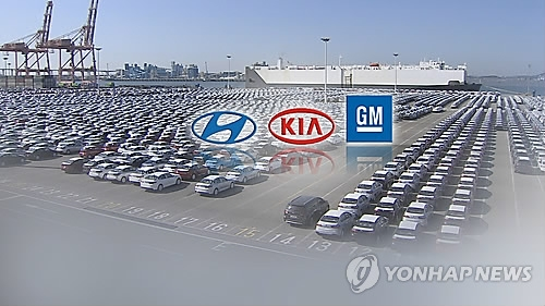 韩国五大整车企业2月销量全面下滑 - 1