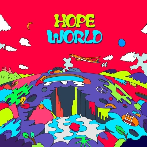 《Hope World》封面照(韩联社/Big Hit娱乐提供)