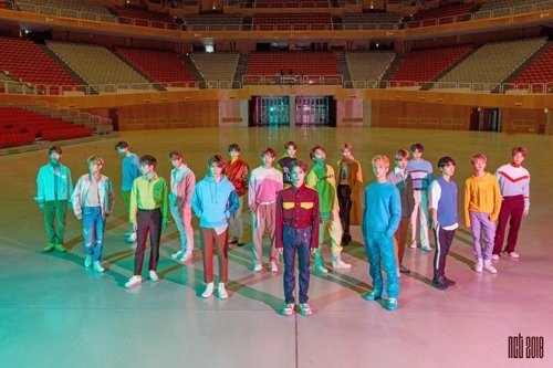 男团NCT(韩联社/SM娱乐提供)