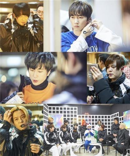 H.O.T.演唱会花絮照(MBC电视台提供)