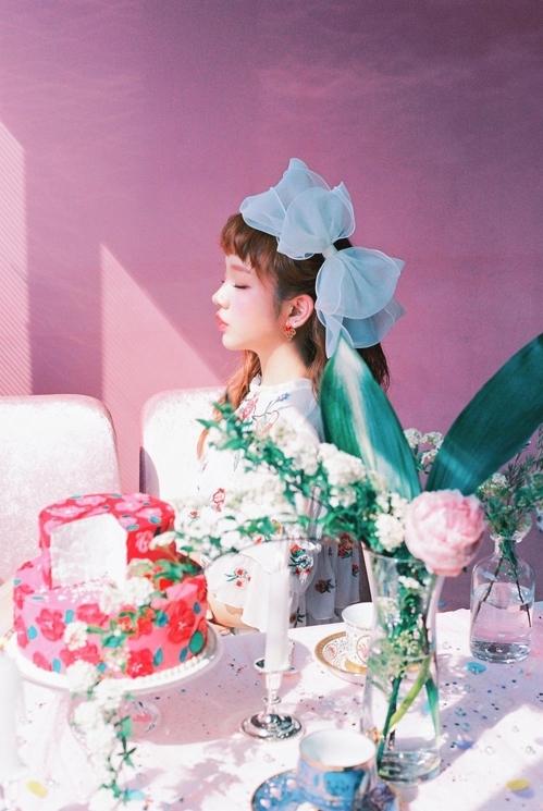歌手白娥娟(韩联社/JYP娱乐提供)