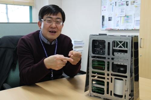韩国航空宇宙研究院博士金海东(科学技术联合大学院大学校提供)