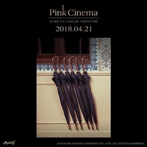 女团Apink粉丝会海报(韩联社/PLAN A娱乐提供)