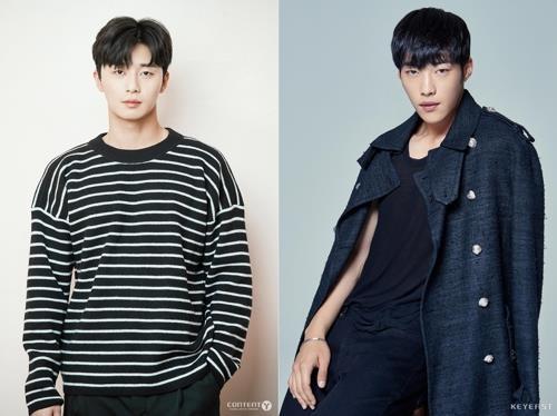 资料图片:演员朴叙俊(左)和禹棹焕(经纪公司提供)