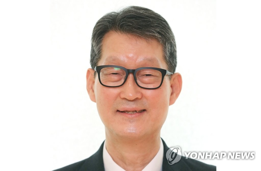 韩联社新任社长赵成富(韩联社)