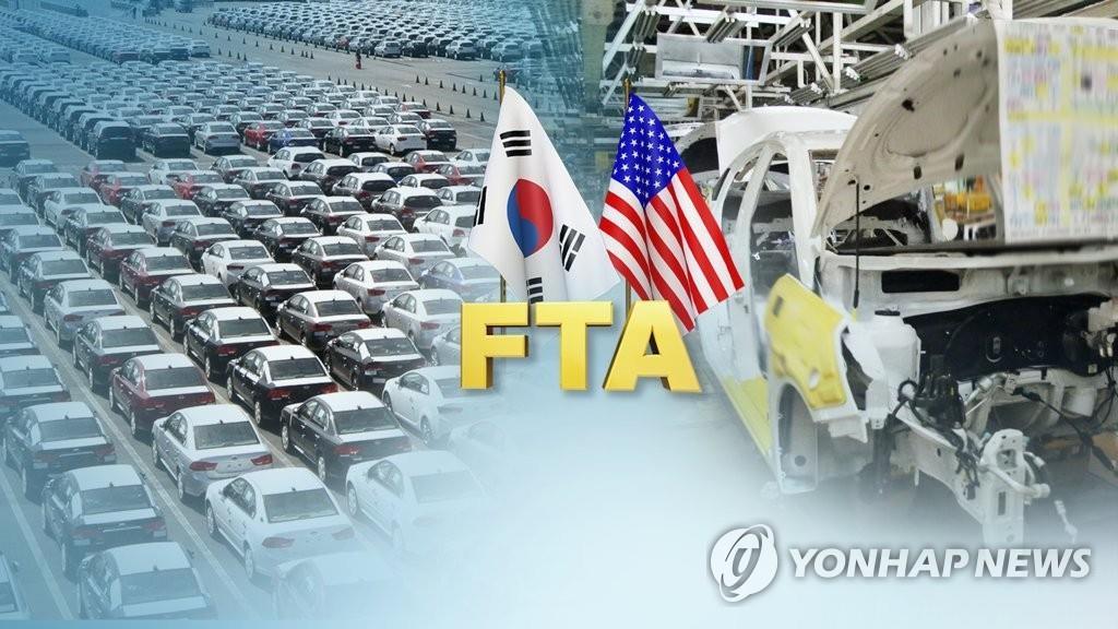 韩国抗议美国将汇率问题与韩美FTA挂钩 - 1