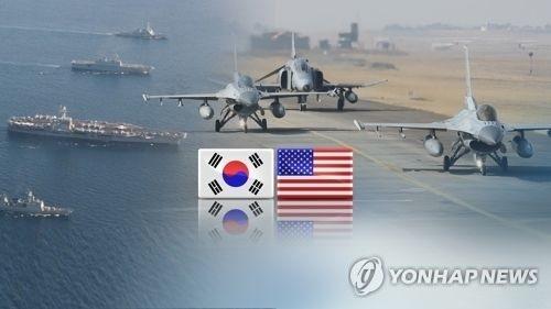 """韩美明日启动""""鹞鹰""""军演 - 1"""